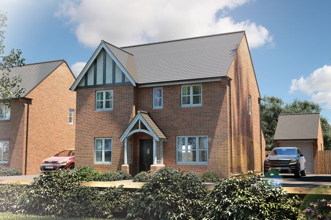 "Thumbnail Detached house for sale in ""The Berrington"" at Penny Lane, Amesbury, Salisbury"