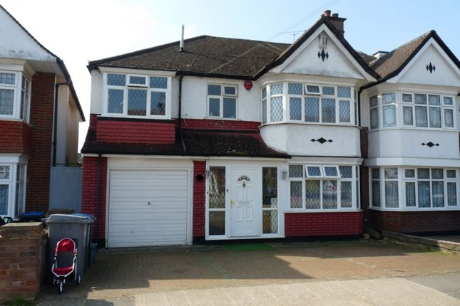 Thumbnail Semi-detached house for sale in Trevelyan Crescent, Kenton