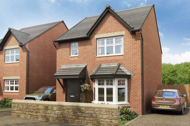"Thumbnail Detached house for sale in ""The Bailey"" at Malthouse Way, Penwortham, Preston"