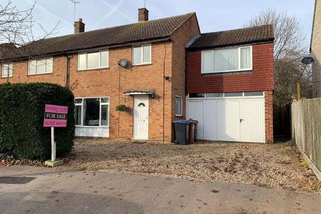 Thumbnail Semi-detached house for sale in Knolles Crescent, North Mymms, Hatfield
