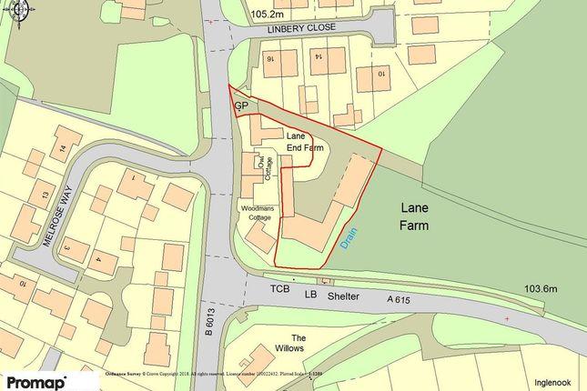 Thumbnail Land for sale in Development, Lane End Farm, Four Lane Ends, Alfreton