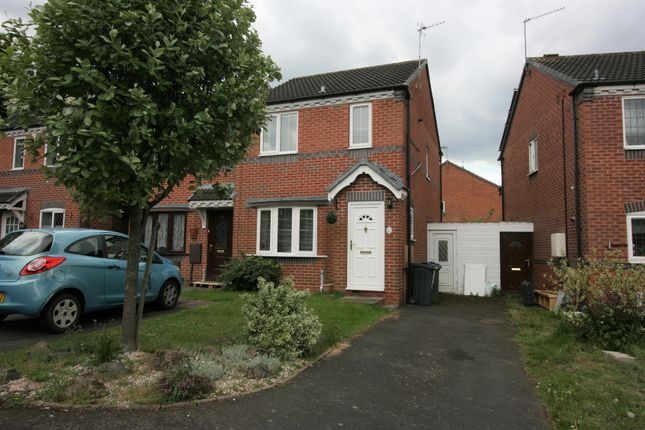 Thumbnail End terrace house for sale in Delamere Drive, Walsall