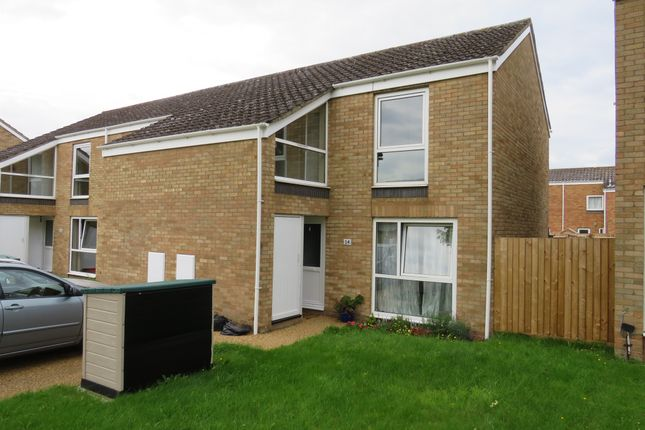 Thumbnail Terraced house for sale in Chestnut Way, Raf Lakenheath, Brandon