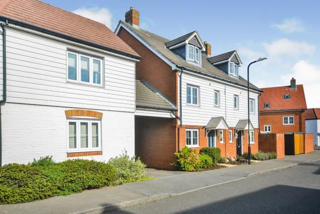 Thumbnail Semi-detached house for sale in Bramble Walk, Kingsnorth, Ashford, Kent