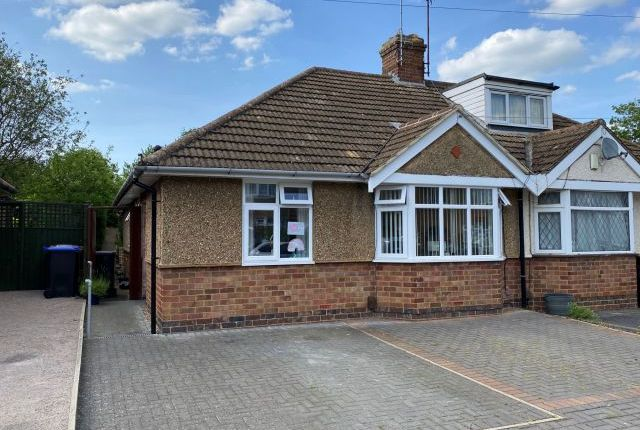 Thumbnail Semi-detached bungalow to rent in Stone Way, Duston Village, Northampton