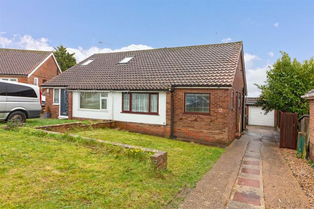 2 bed semi-detached bungalow to rent in Quantock Close, Worthing BN13