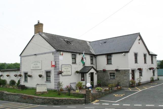 Thumbnail Pub/bar for sale in Ceredigion - Attractive Hotel Near Coast SA43, Ceredigion