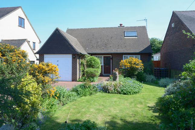 Thumbnail Detached bungalow for sale in Cutthorpe Road, Cutthorpe, Chesterfield