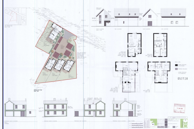 Thumbnail Pub/bar for sale in Freehold With Planning Permission Granted, 12 Drury Lane, Buckley