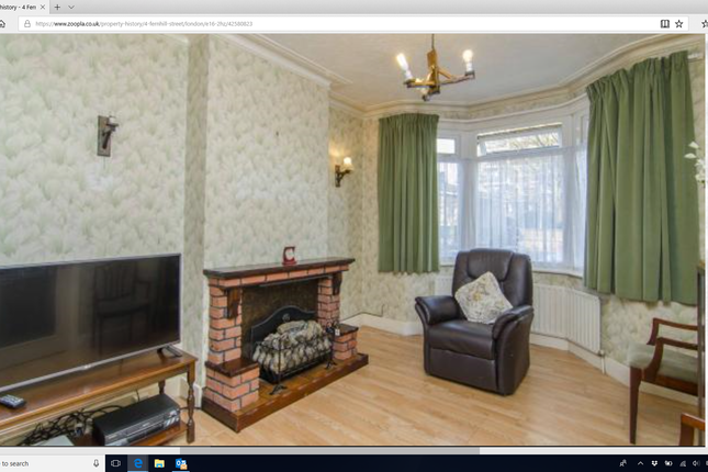 Thumbnail Terraced house to rent in Fernhill Street, London