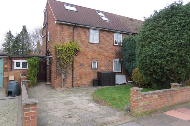 Thumbnail Semi-detached house to rent in Faringdon Avenue, Bromley