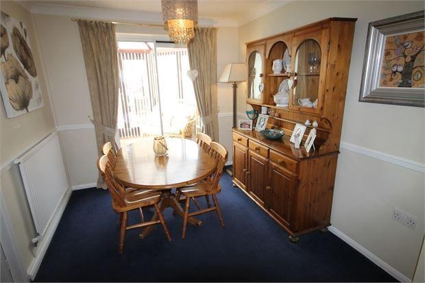 Dining Room of Catkin Way, Balderton, Newark, Nottinghamshire. NG24