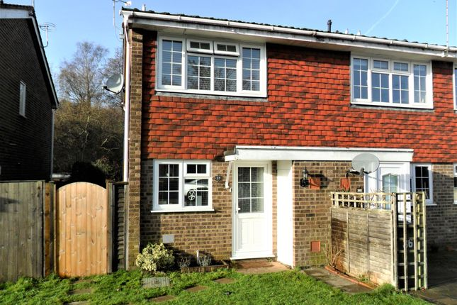Thumbnail End terrace house to rent in Waterside Close, Bordon
