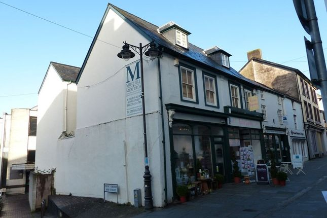 Retail premises for sale in High Street, Brecon