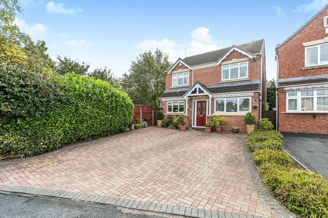 Thumbnail Detached house for sale in Homestead Avenue, Wall Meadow, Worcester