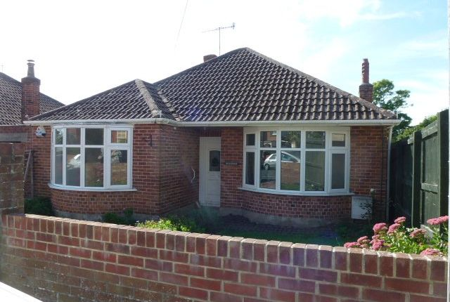 Thumbnail Detached bungalow to rent in Jestys Avenue, Weymouth, Dorset