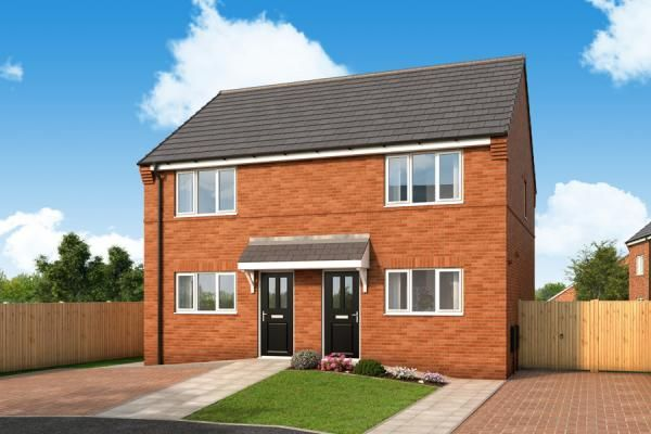 "Thumbnail Property for sale in ""The Halstead At New Forest, Middleton"" at Goodwood, Leeds"
