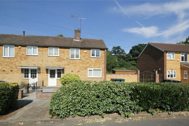 Thumbnail End terrace house for sale in Riverside Place, Pymmes Green Road, London