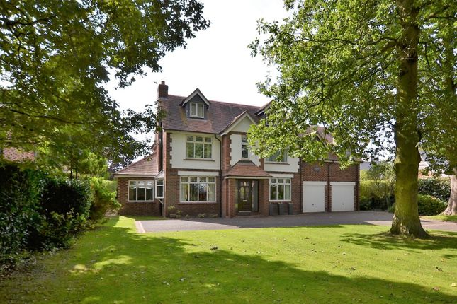 Thumbnail Detached house for sale in Middlewich Road, Elworth, Sandbach