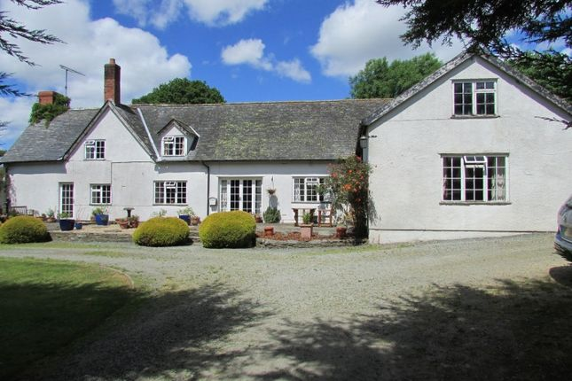 Thumbnail Detached house for sale in Church Stoke, Montgomery