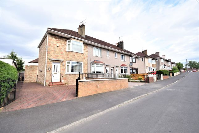 2 bed end terrace house for sale in Hathersage Drive, Glasgow
