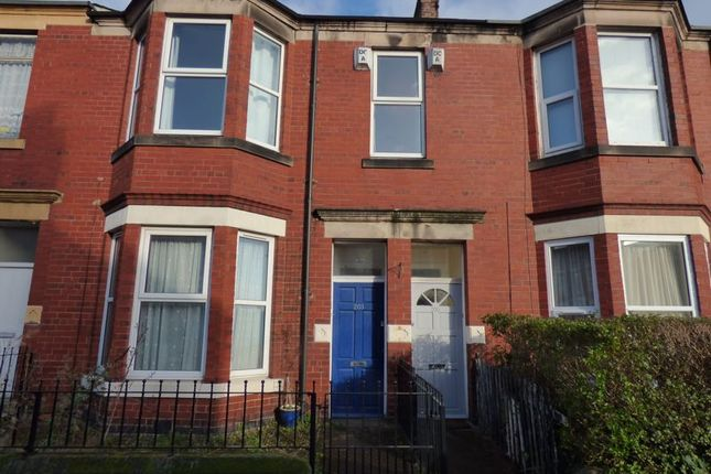 Thumbnail 3 bed flat for sale in Trewhitt Road, Heaton, Newcastle Upon Tyne