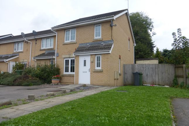 Thumbnail End terrace house for sale in Willowbrook Gardens, St. Mellons, Cardiff