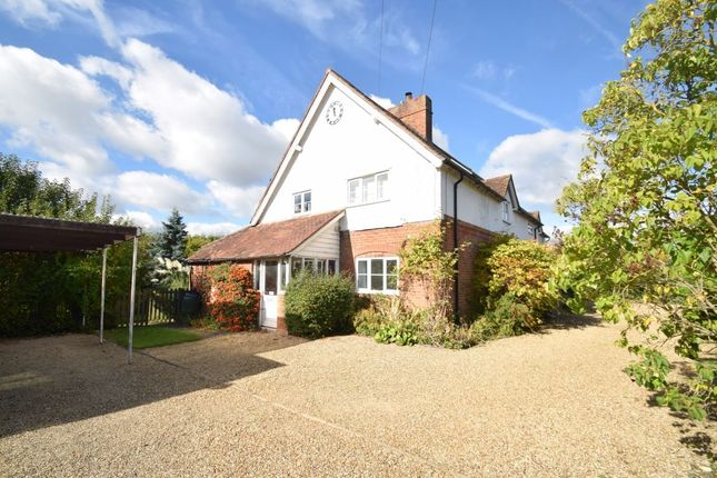 Thumbnail Detached house to rent in Thame Road, Longwick, Buckinghamshire