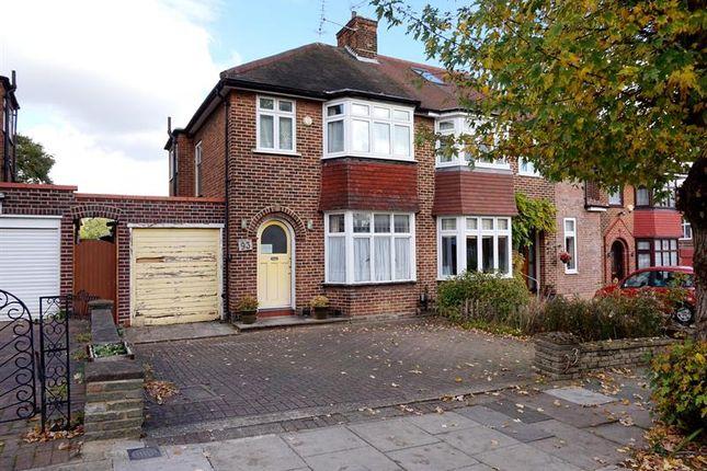 3 bed semi-detached house for sale in Oakwood Park Road, London