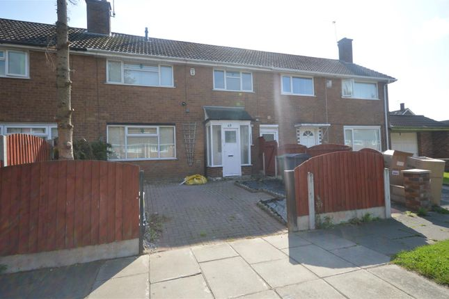 3 bed terraced house to rent in Big Meadow Road, Upton, Wirral