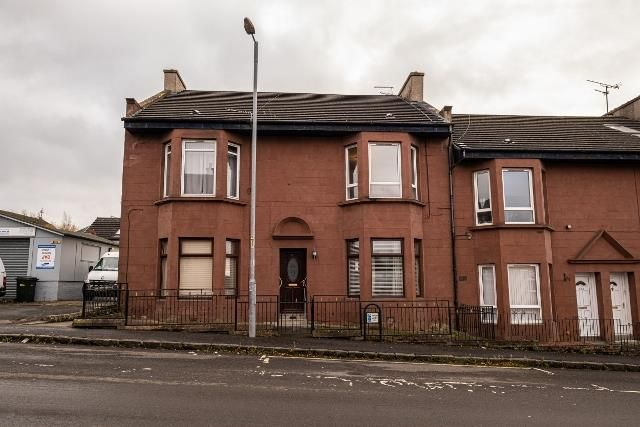 Thumbnail Flat for sale in Russell Street, Wishaw
