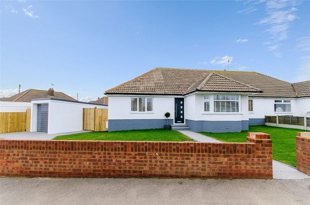 Thumbnail Semi-detached bungalow for sale in Oaklands Avenue, St. Peters, Broadstairs
