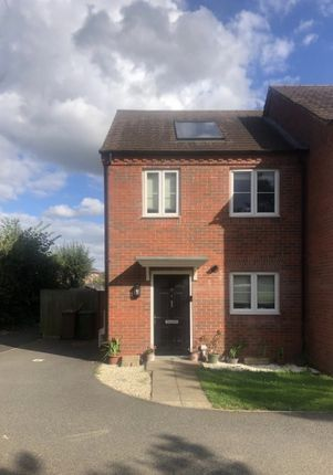 Thumbnail Semi-detached house for sale in Hunts Field Drive, Corby, Northamptonshire