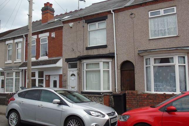 Thumbnail Terraced house to rent in Fitton Street, Nuneaton
