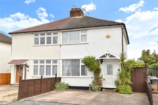 Thumbnail Semi-detached house for sale in Jubilee Crescent, Addlestone, Surrey