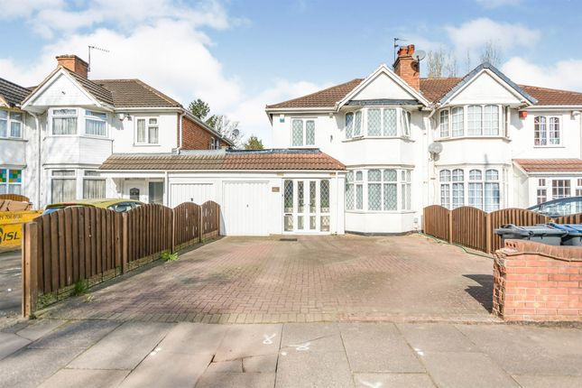 Thumbnail Semi-detached house for sale in Fox Hollies Road, Hall Green, Birmingham