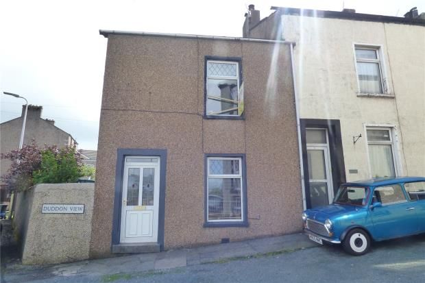 Thumbnail End terrace house for sale in Duddon View, Askam-In-Furness, Cumbria