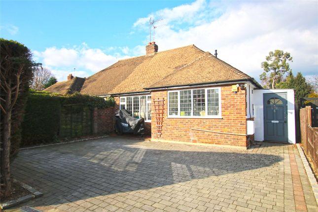 Thumbnail Semi-detached bungalow for sale in Byfleet, West Byfleet, Surrey
