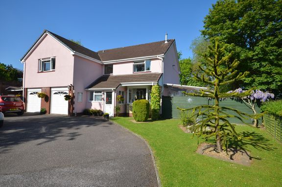 Thumbnail Detached house for sale in Patches Road, Tiverton