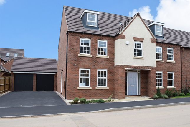 "Thumbnail Detached house for sale in ""Lichfield"" at Tamora Close, Heathcote, Warwick"
