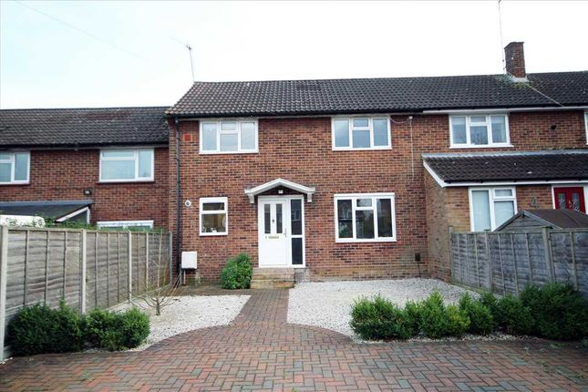 Thumbnail Terraced house for sale in Cheviot Close, Bushey WD23.