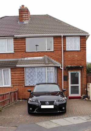 Thumbnail Semi-detached house to rent in Tiverton Avenue, Leicester