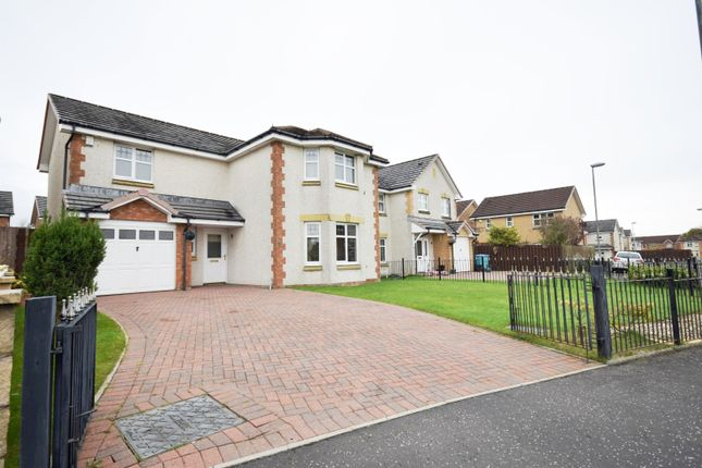 Thumbnail Detached house for sale in Glencairn Drive, Coatbridge