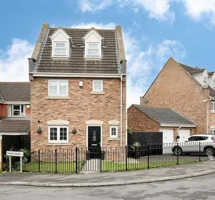 Thumbnail Detached house for sale in Prominence Way, Sunnyside, Rotherham