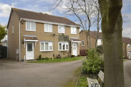 Thumbnail Semi-detached house for sale in Drayton Place, Irthlingborough, Northamptonshire