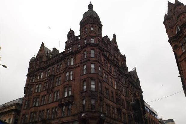 Thumbnail Flat to rent in Renfield Street, Glasgow