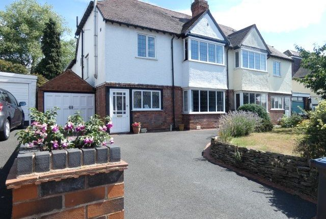 Thumbnail Semi-detached house for sale in Orchard Road, Erdington, Birmingham