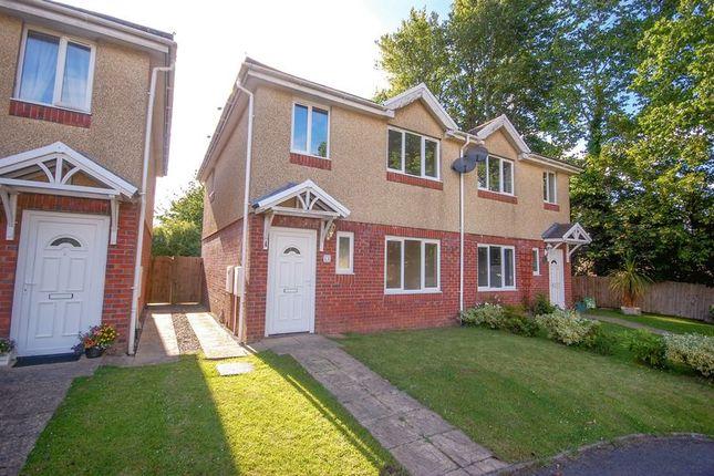 Thumbnail Semi-detached house to rent in Danybryn Road, Gorseinon, Swansea