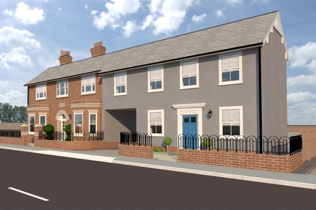 Thumbnail Link-detached house for sale in High Street, Kelvedon, Colchester