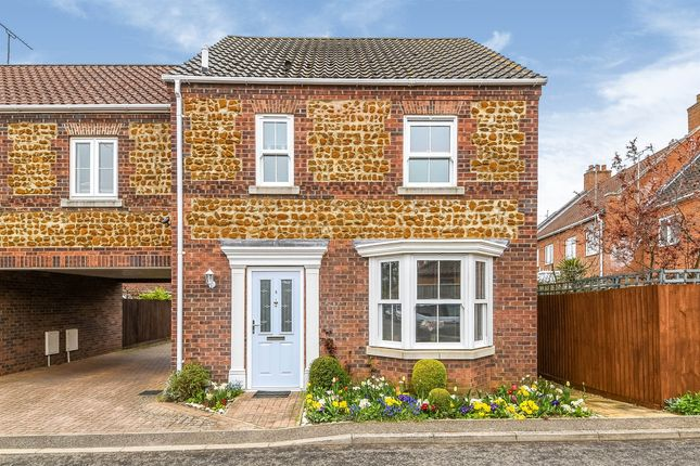 3 bed terraced house for sale in The Old Coal Yard, Snettisham, King's Lynn PE31